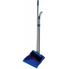 Dustpan and lobby broom combo