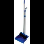 Dustpan and lobby broom combo